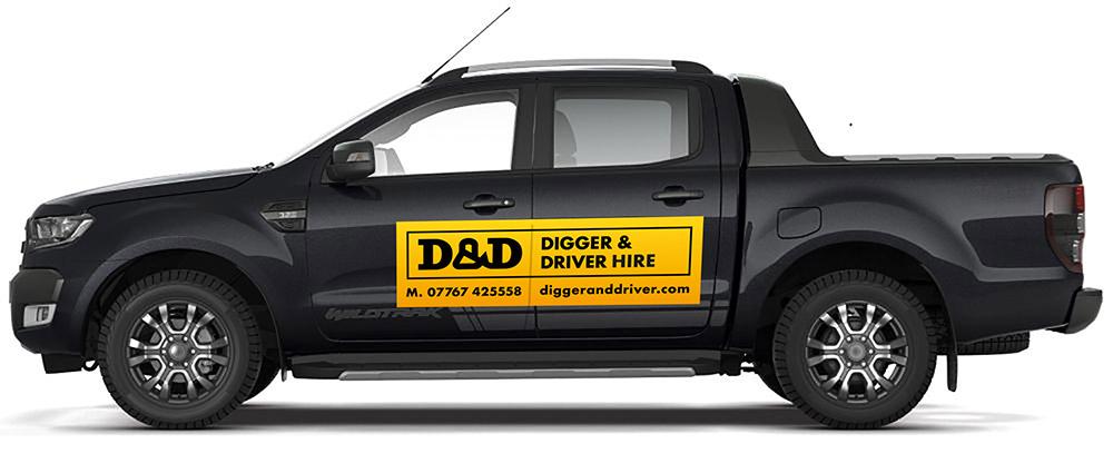 digger driver truck